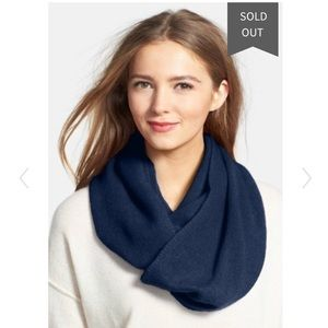 The Cashmere Project Navy Infinity Scarf